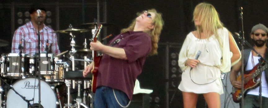 Warren Haynes and Grace Potter - Hangout Festival 2011